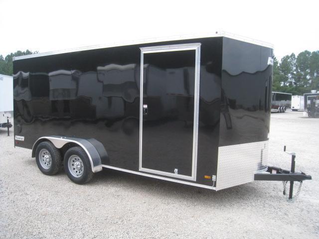2019 Haulmark Transport 7 x 16 Vnose Enclosed Cargo Trailer