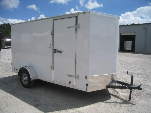 2020 Continental Cargo Sunshine 6 x 12 Vnose with Double Rear Doors