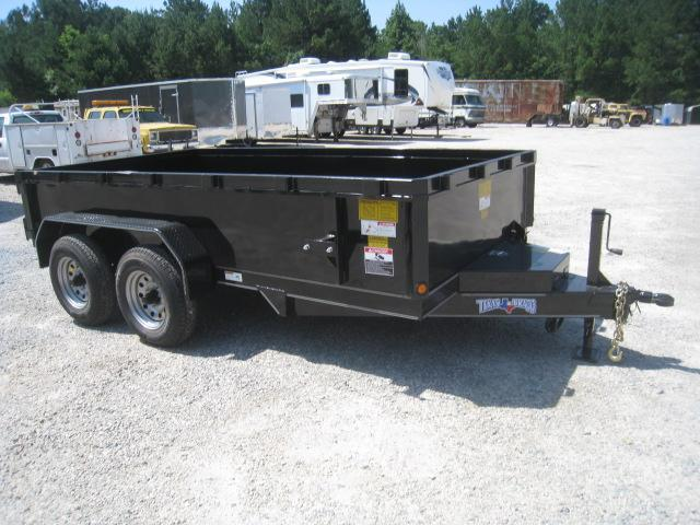 2018 Texas Bragg Trailers 6X12 General Purpose Heavy Duty Dump Trailer