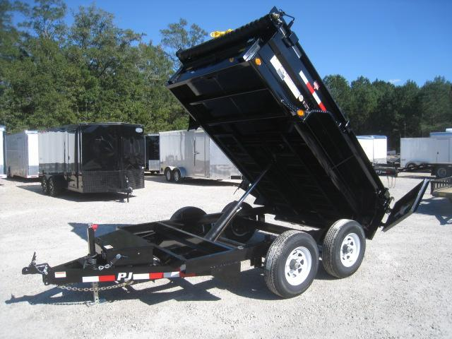 2019 PJ Trailers D3 10x72 Dump Trailer with Tarp