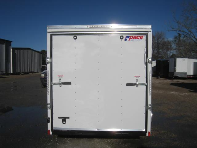2019 Pace American Outback 6x12 Vnose Enclosed Cargo Trailer ...