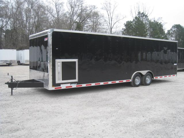 2018 Pace American Journey 8.5x28  Car / Racing Trailer Loaded