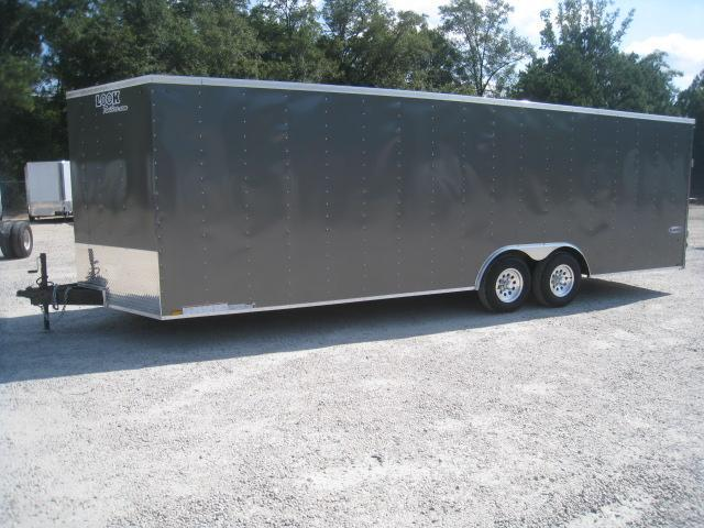 2019 Look Trailers Element 8.5x24 Vnose Race/Auto Trailer with Aluminum Wheels