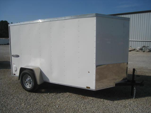 2018 Look Element 5 X 10 Vnose Enclosed Cargo Trailer