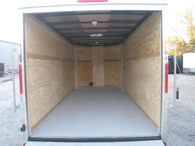 2018 Look Trailers VWLC7X16TE2 7X16 Vnose Enclosed Cargo Trailer