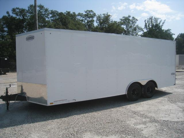 2019 Cargo Express XLW 8.5x20 Vnose with 5200lb Axles