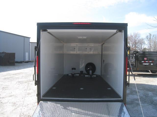 2019 Look Trailers Element 7 x 14 Vnose Motorcycle Trailer