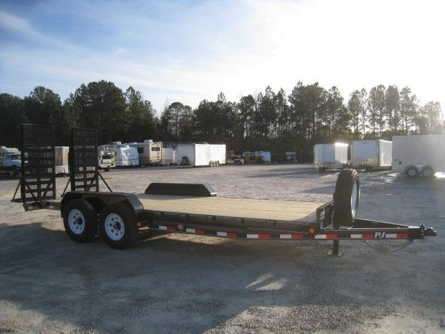 "2019 PJ Trailers CC 6"" Channel Equipment Trailer 18 + 2"