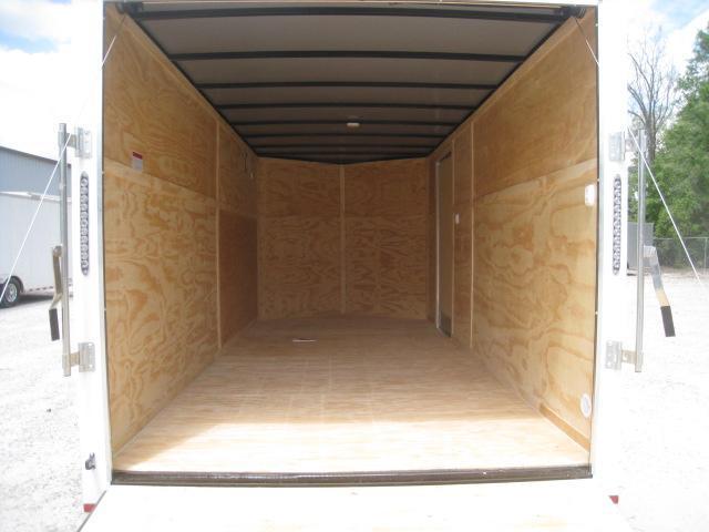 2019 Lark 7 X 16 Vnose Enclosed Cargo Trailer