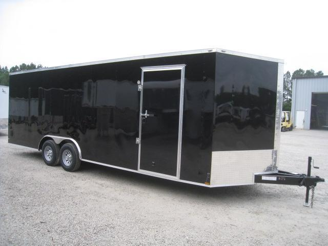 2019 Lark 24' Vnose Car / Racing Trailer with Dexter 5200LB Axles