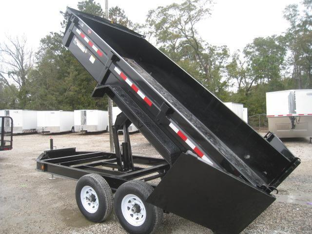 2019 PJ Trailers DL 83 x 14 Low Pro Dump Trailer with Tarp