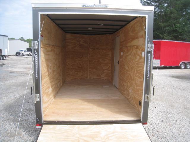 2020 Lark 6 X 12 Vnose Enclosed Cargo Trailer