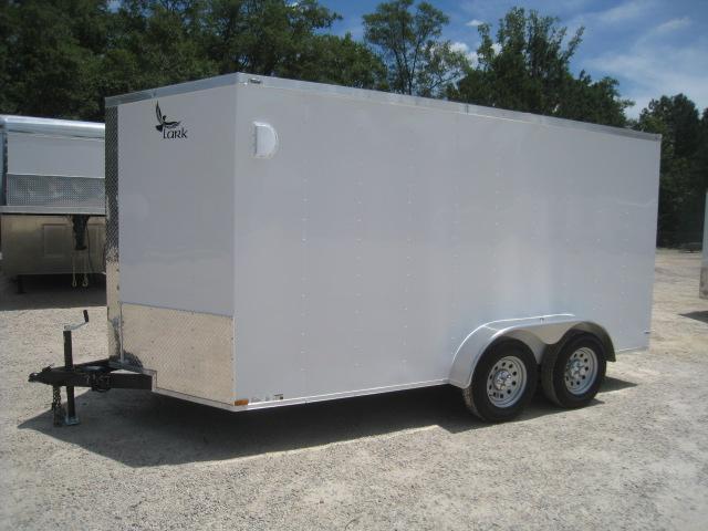 2019 Lark 7 X 14 Vnose Enclosed Cargo Trailer with Ramp Door
