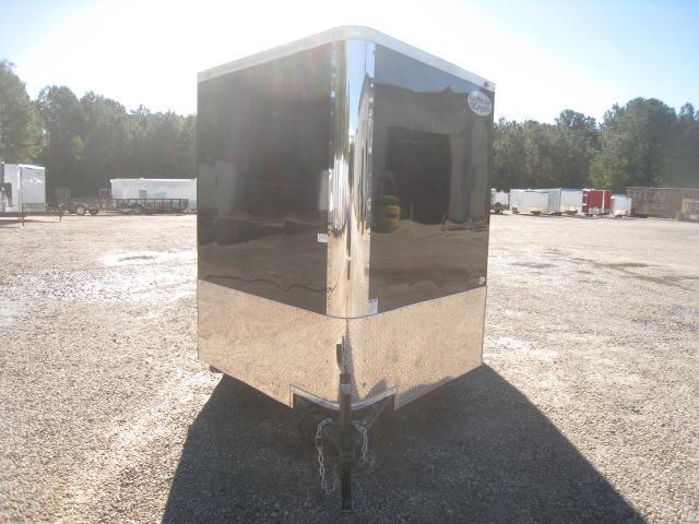 2019 Continental Cargo Sunshine 7x16 Vnose Motorcycle Trailer