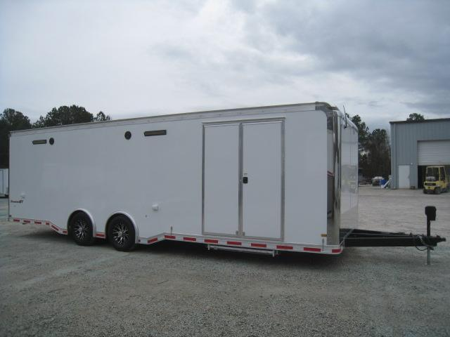2019 Pace American 28' Shadow Car / Racing Trailer Loaded
