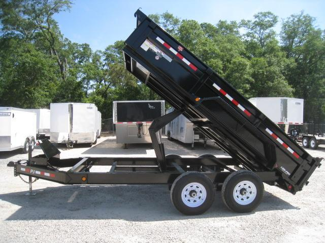 2020 PJ Trailers DL 14 X 83 Low Pro Dump Trailer