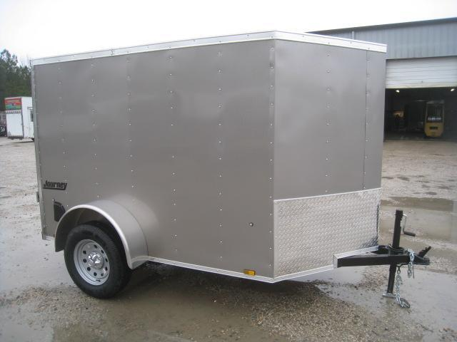 2019 Pace American Journey 5 x 8 Vnose Enclosed Cargo Trailer