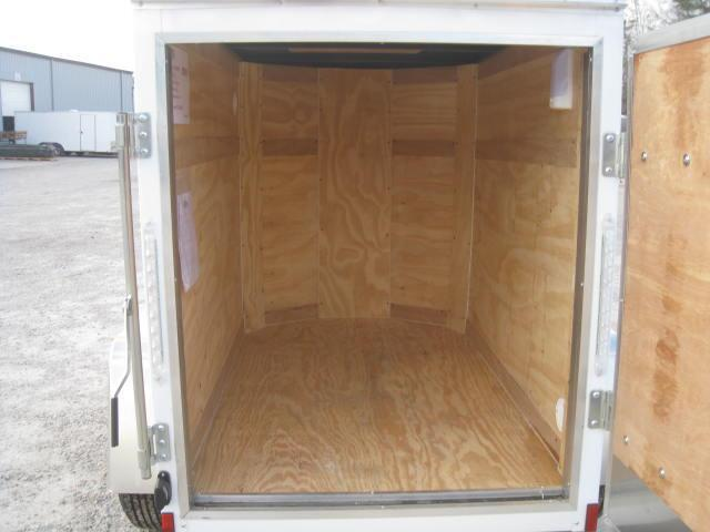 2018 Pace American Journey 4x6 Enclosed Cargo Trailer