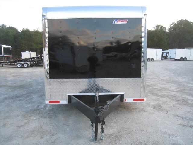 2019 Pace American Journey 28' Car / Racing Trailer Loaded in Black