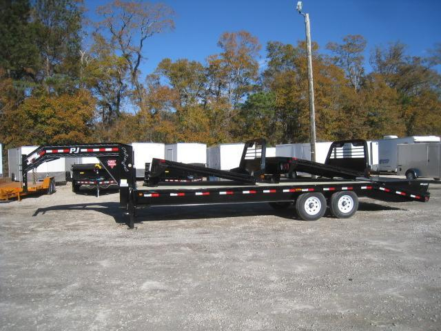 2019 PJ Trailers FS 20' plus 5' Gooseneck Equipment Trailer
