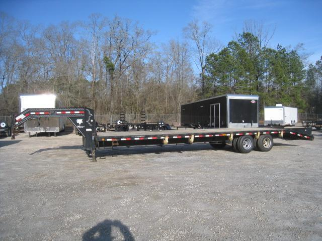 2013 PJ Trailers FD 27 +  5 Dual Tandem Deckover Gooseneck Equipment Trailer
