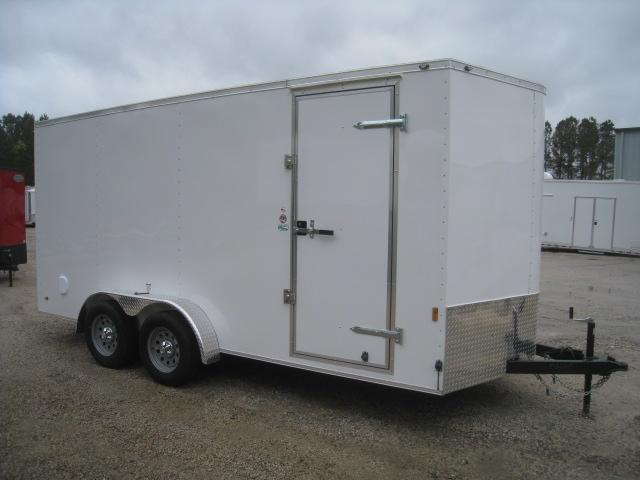 2020 Continental Cargo Sunshine 7 x 16 Vnose Enclosed Cargo Trailer in Trenton, NC