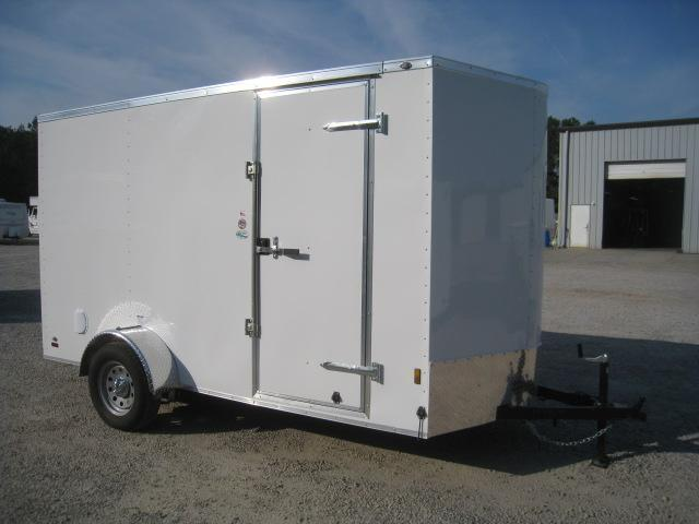 "2020 Continental Cargo Sunshine 6 x 12 Vnose with 6'6"" Inside in Pinebluff, NC"