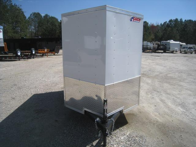 2020 Pace American Journey 5 x 8 Vnose Enclosed Cargo Trailer