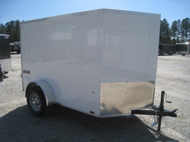 2020 Pace American Journey 5 x 8 Vnose Enclosed Cargo Trailer in Morrisville, NC