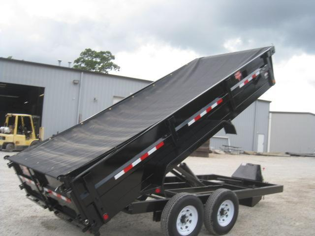 "2019 PJ Trailers D9 16'X83""  Dump Trailer with Tarp Kit"