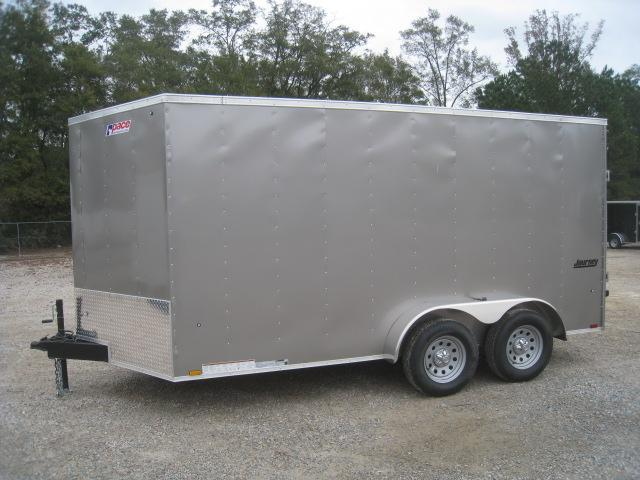 2019 Pace American Journey 7 x 14 Vnose Enclosed Cargo Trailer