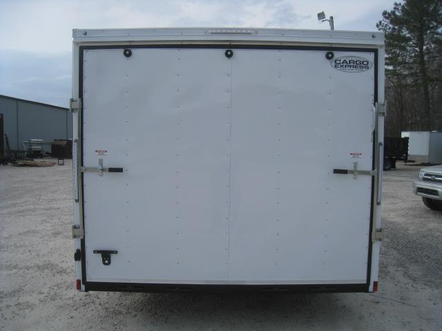 2020 Cargo Express XLW 8.5 x 16 Vnose Car / Racing Trailer