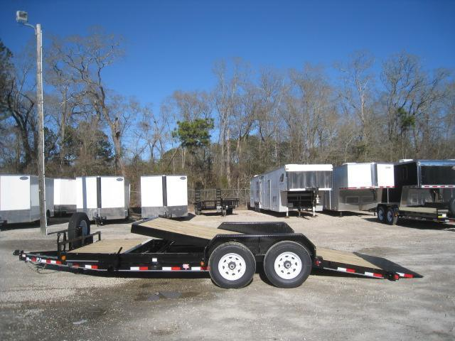 "2019 PJ Trailers T6 6"" Channel Tilt Bed Equipment Trailer 16 + 4"
