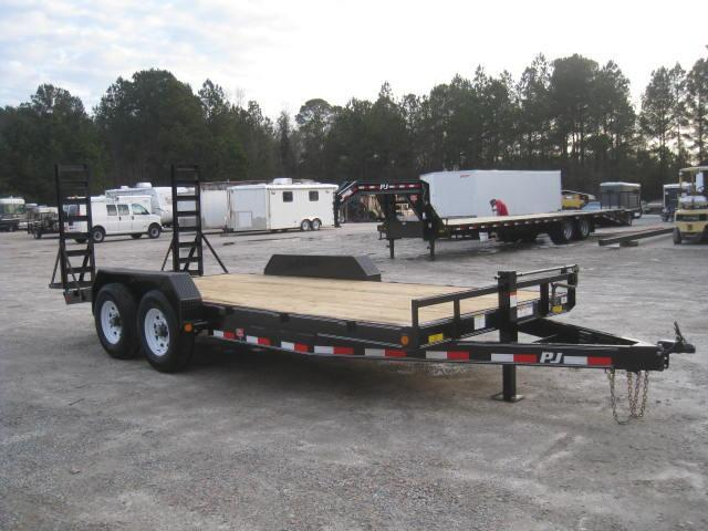 2018 PJ Trailers CC 16'+2' Equipment Trailer