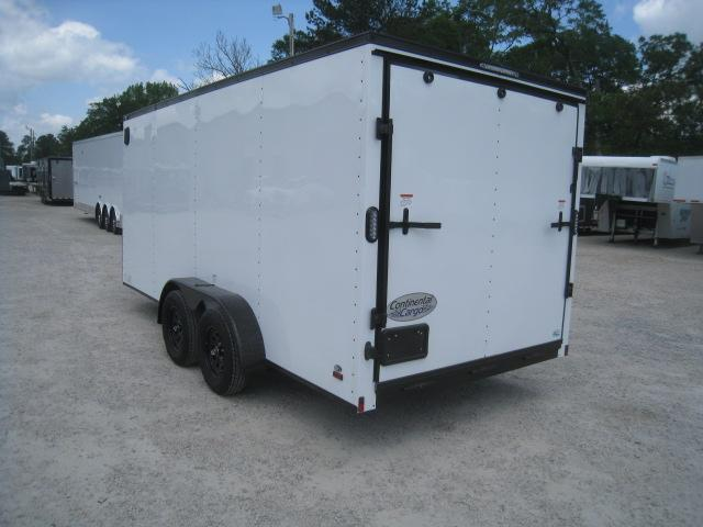 2019 Continental Cargo Sunshine 7 x 16 Vnose Enclosed Cargo Trailer
