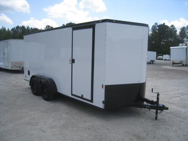 2019 Continental Cargo Sunshine 7 x 16 Vnose Enclosed Cargo Trailer in Trenton, NC