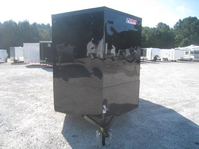 2019 Pace American Journey 6x12 Vnose Enclosed Cargo Trailer with Blackout Package