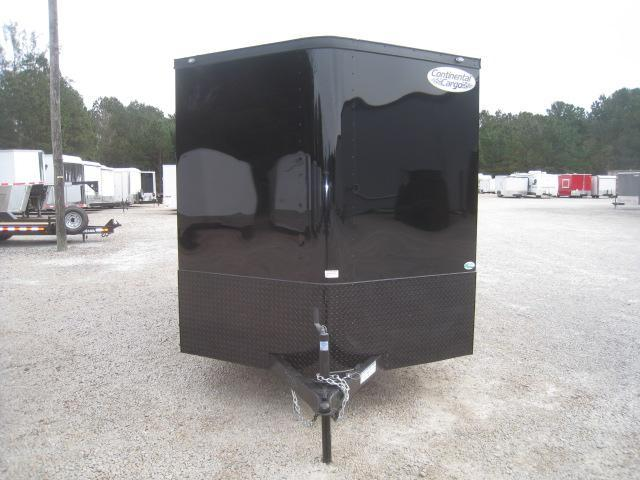 2019 Cargo Mate Sunshine 7x14 Vnose Enclosed Cargo Trailer with Black Out Package