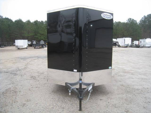 2019 Continental Cargo Sunshine 6 x 12 Vnose Enclosed Cargo Trailer with Ramp Door
