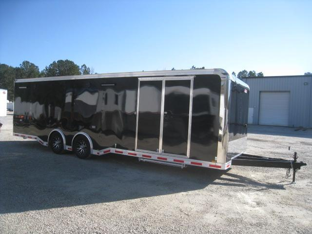 2019 Pace American Shadow 28' Black Car / Racing Trailer