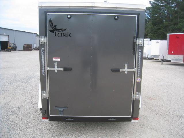 2020 Lark 5 X 8 Vnose Enclosed Cargo Trailer