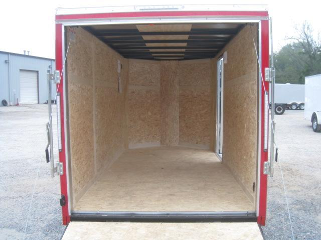 2019 Pace American Journey 6x12 Vnose Enclosed Cargo Trailer in Red