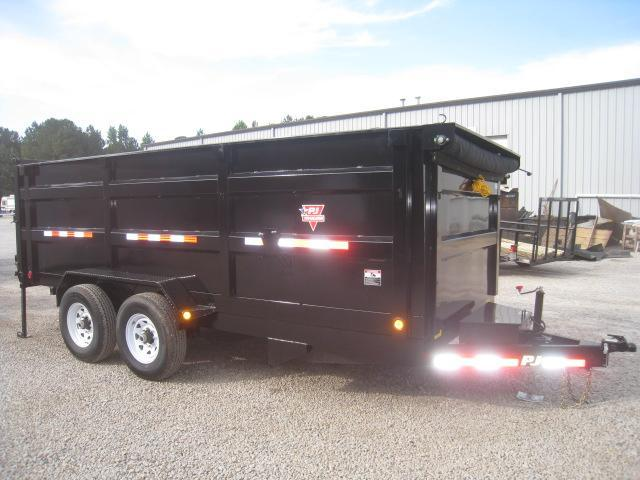"""2019 PJ Trailers DC 16' X 83"""" Dump Trailer with High Sides"""