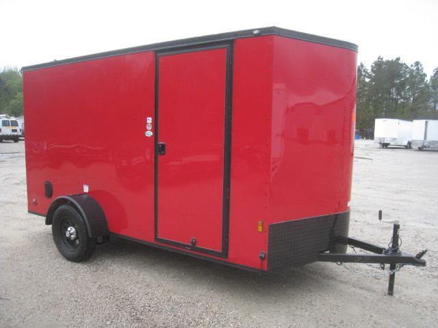 2020 Continental Cargo Sunshine 6 x 12 Vnose Enclosed Cargo Trailer