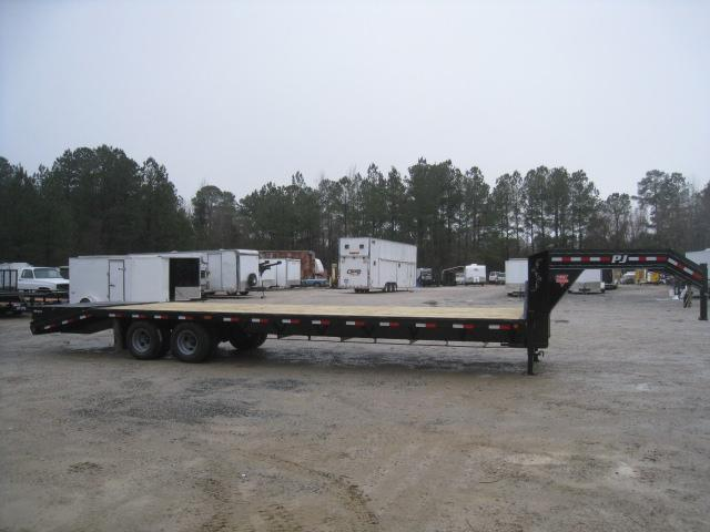 2019 PJ Trailers FD 32 Gooseneck Dual Tandem Deckover Equipment Trailer