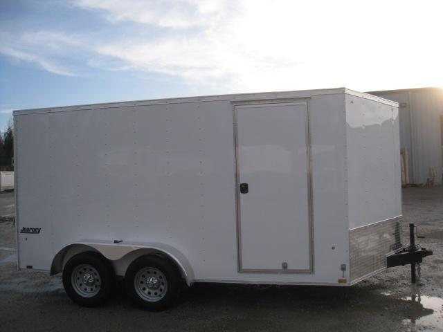 2019 Pace American Journey 7x14 Vnose Enclosed Cargo Trailer in Brunswick, NC