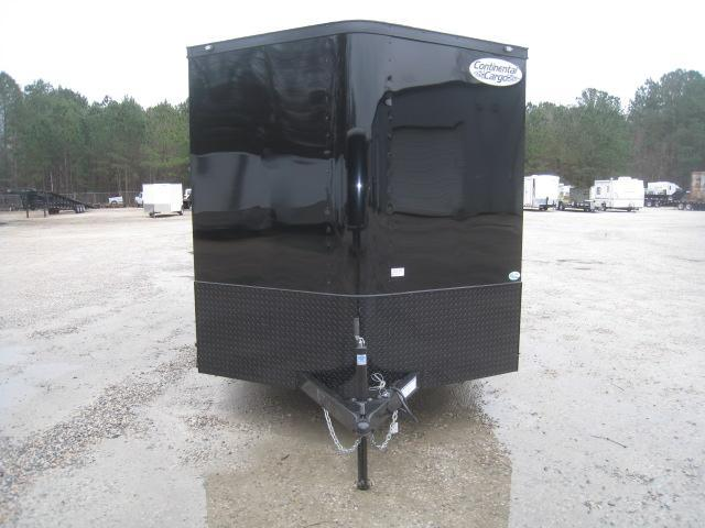 2019 Continental Cargo Sunshine 7x16 Vnose Enclosed Cargo Trailer with Blackout Package