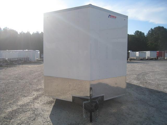 """2019 Pace American Journey 8.5x24 Vnose with 7'6"""" Inside Height"""