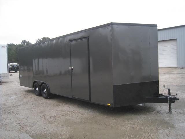 2018 Cargo Express XLW 8.5X24 Car / Racing Trailer with Blackout Package