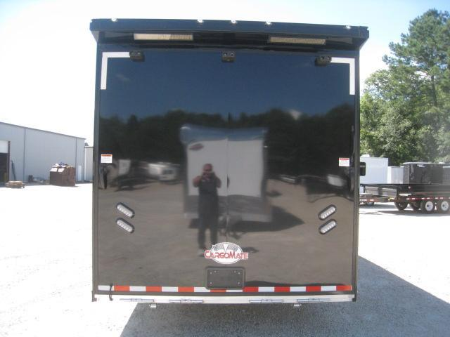 2020 Cargo Mate Aluminum Eliminator 34 Car / Racing Trailer Loaded with Blackout Package